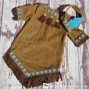 Old Navy Pocahontas Costume Native American Indian